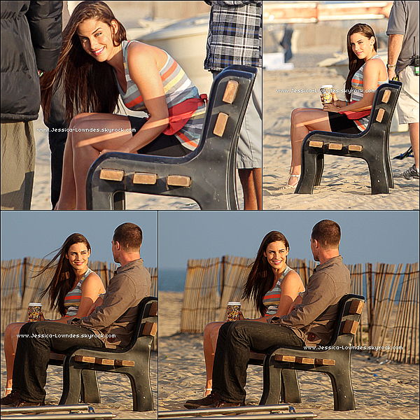 """. . 11 Août :  Jessica a été enfin vu sur le set de la serie 90210 , afin de tourner quelques scènes pour la saison 4 . Jessica est magnifique , bon passons à la serie , alors """" Adrianna - The Bitch """" is back , que pensez -vous pour la suite des épisodes ?! . ."""