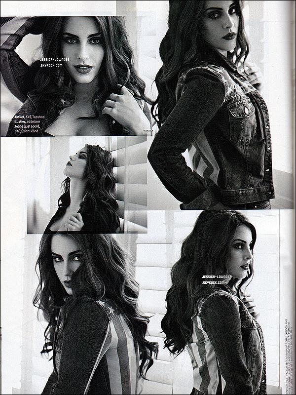 . Nouveau shooting et chic de Jessica Lowndes pour le magasine « More Magazine ».  .