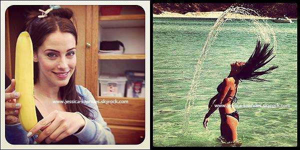 """. Découvrez des scans de Jessica pour le magazine pour """"Look Magazine"""" version (UK) datant de 2012. ."""