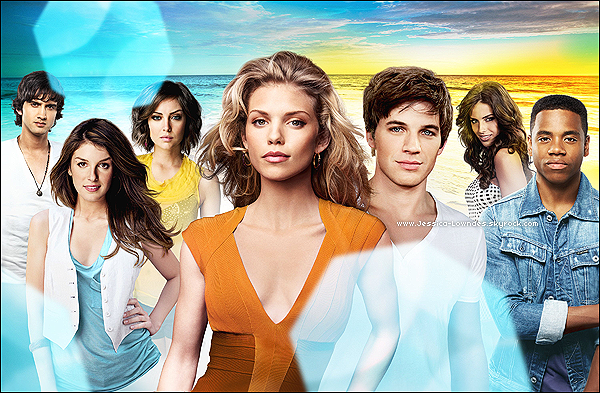 . Découvrez la nouvelle affiche promotionnel de la saison 5 de «90210 Beverly Hills nouvelle génération».  .