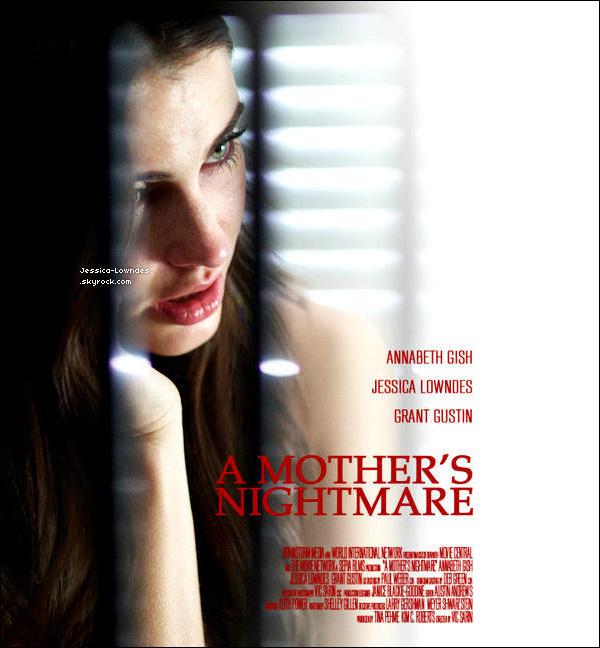 """. Découvrez la bande-annonce et le poster du film où Jess' sera à l'affiche """"A Mother's Nightmare"""".  Infos express' : Jessica Lowndes interprète le role de Vanessa Redman, ce film est un Thriller et le film sort le 29 septembre 2012 (USA).."""