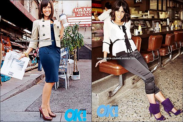 Photoshoot de Jessica Lowndes datant de 2008, pour le magazine Ok! Weekly Magazine.
