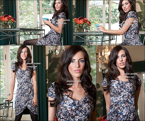 """. Jessica Lowndes pose pour le magasine """"Life & Style"""" en 2009          (4éme partie).."""