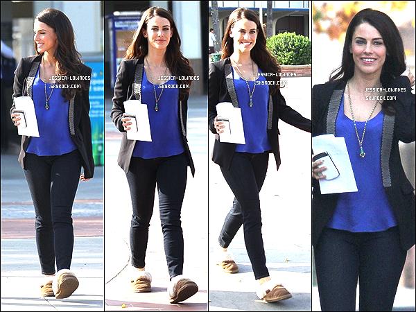 . 26 et 28 novembre 2012 : Jess et ses co-star ont été vus tournant une scène, pour la saison 5. .