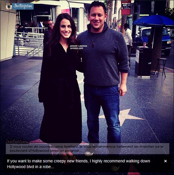 """JLow était au """"Throwback Valentine's Day Bash"""" au Pink Taco Sunset Strip le 31 janvier 2013 à Los Angeles. Qu'une photo est disponible, encore désolée je me suis permise de mettre un coloring ! La tenue de Jess', TOP ou FLOP ?"""