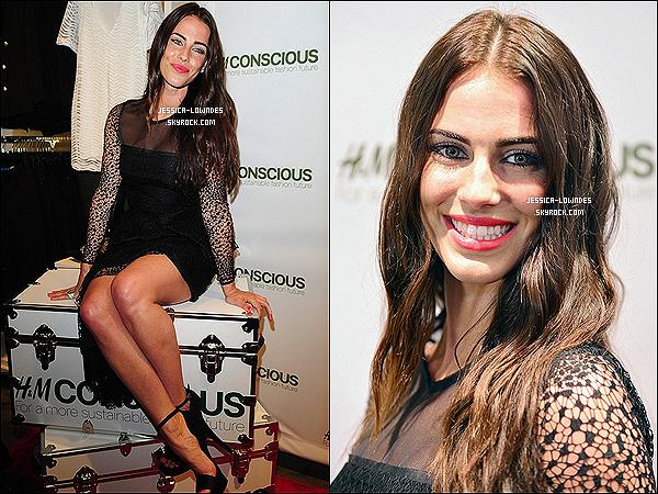 """04/04/2013 : JLow était présente pour présenter la nouvelle collection """"Conscious"""" d'H&M à Miami en Floride."""