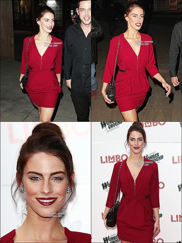 20/05/13 : Jessica Lowndes, toute seul était à la nuit de presse de Limbo, toujours à Londres! Top ?Cette fois aussi, je trouve Jessi sublime ! C'est un GROS TOP! tout est bien, la robe ainsi que le make-up !