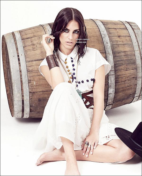 Jess' a fait un nouveau shooting pour «Company Magazine» édition juin 2013.