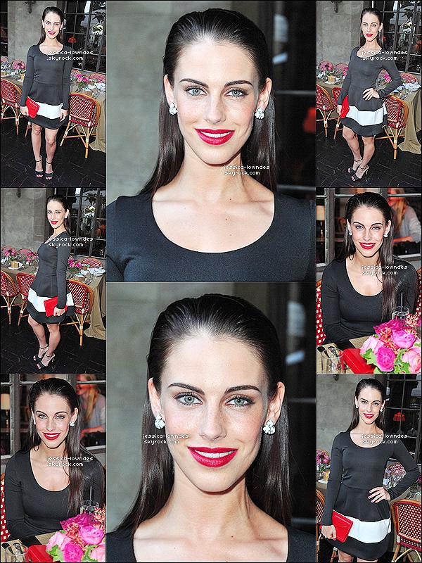 13/06/13 : Notre star, Jessica Lowndes était au dîner organisé par Lucky Brand, au Chateau Marmont.