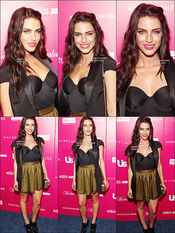 10/09/13 : Jessica, rayonnante a été vu au Us Weekly's Most Stylish New Yorkers Party.  La belle Jessica était aussi présente au 2e jour du Colgate Optic White Beauty Bar.