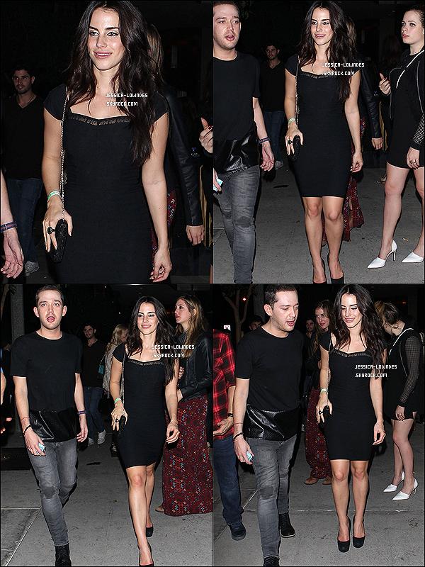 12/11/13 : Jessica Lowndes et son meilleur ami, Jamie Shepherd ont été vus à Hollywood en Californie. Top ?