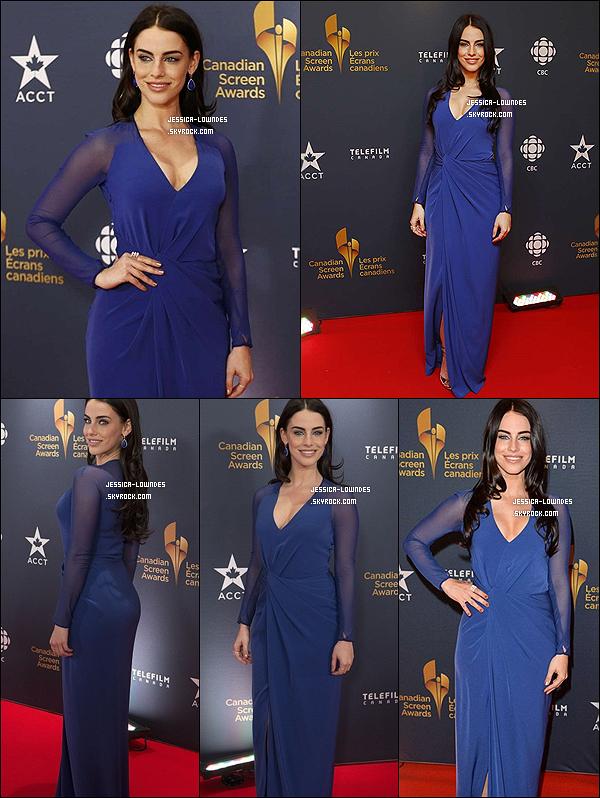 """09/03/14: Jess été présente aux """"Canadian Screen Awards"""", malheureusement elle n'a pas remporté le prix *.    Le lendemain (le 10 mars), la belle a été vue à l'aéroport L.A.X, elle est de retour à L.A..."""