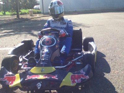 Telen la team quintin racing kart kf3