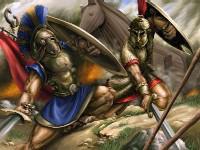 Des petit épisodes de la mythologie.....Achille Vs Hector