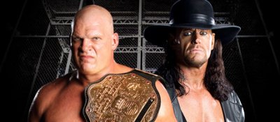 World Heavyweight Championship - Hell In A Cell - Kane (c) Vs The Undertaker