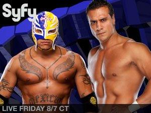 Rey Mysterio Vs Alberto Del Rio - Single Match