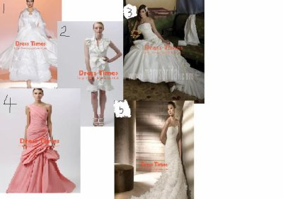 New styles wedding dresses in 2012
