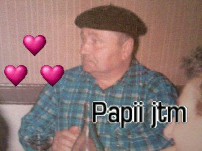 Pour une personne qui conte plus que tout c toiii Papy ...