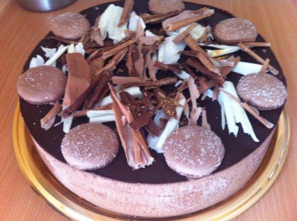Mousse trois chocolat