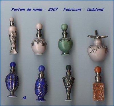 mes recherches les parfums de reine