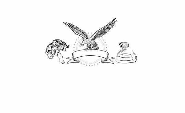 emblème en préparation