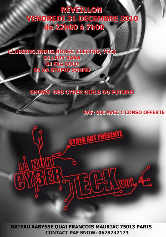cyber teck volume 4 by cyber art & snow