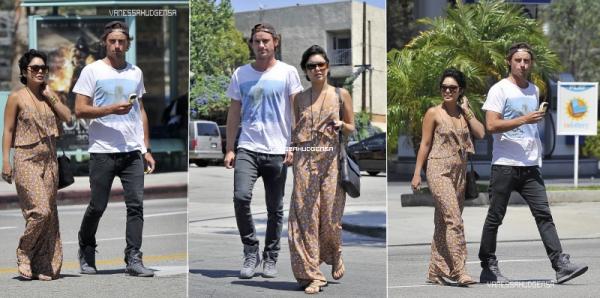 21/08/11: Nessa etait accompagnée d'un Beau jeune homme ont étés Vu près de Studio City situé à Los Angeles.