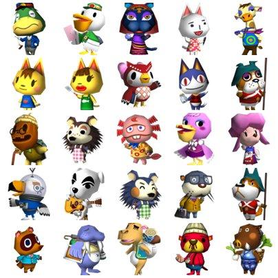 Les personnages spéciaux