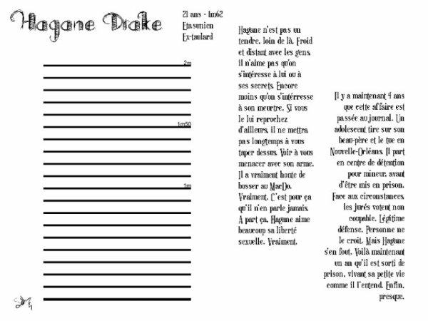 Le Repris de Justice - Hagane Drake ( Fiche RP )