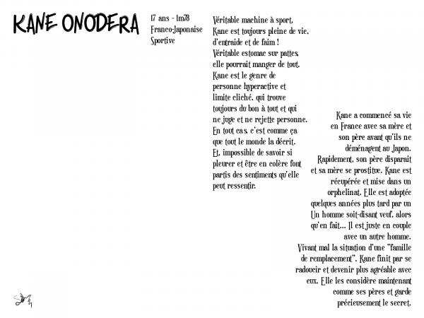 La Sportive - Onodera Kane ( Fiche Réservée à Honey )