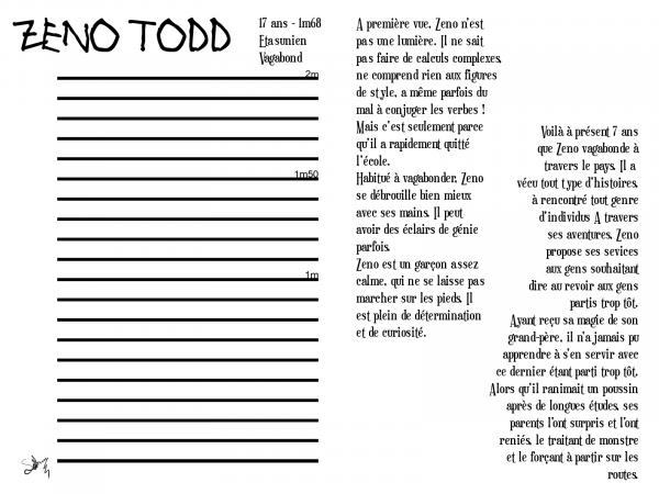 Le Nécromancien - Zeno Todd ( Fiche RP )