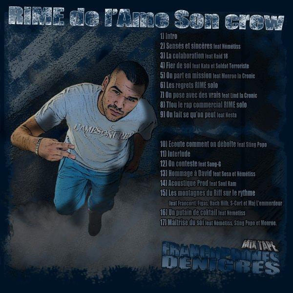 FREESTYLE / CRAPULAR     RIME feat SOLDAT TERRORISTE ET KATA (2011)