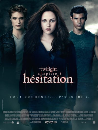 Twilight chapitre 3 : hésitation.
