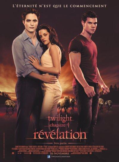 Twilight chapitre 4 : révélation.