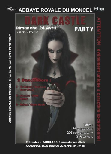 DARK CASTLE PARTY 2011 - 24.04.11