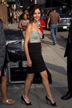 Le look du jour: Selena Gomez à New Yor