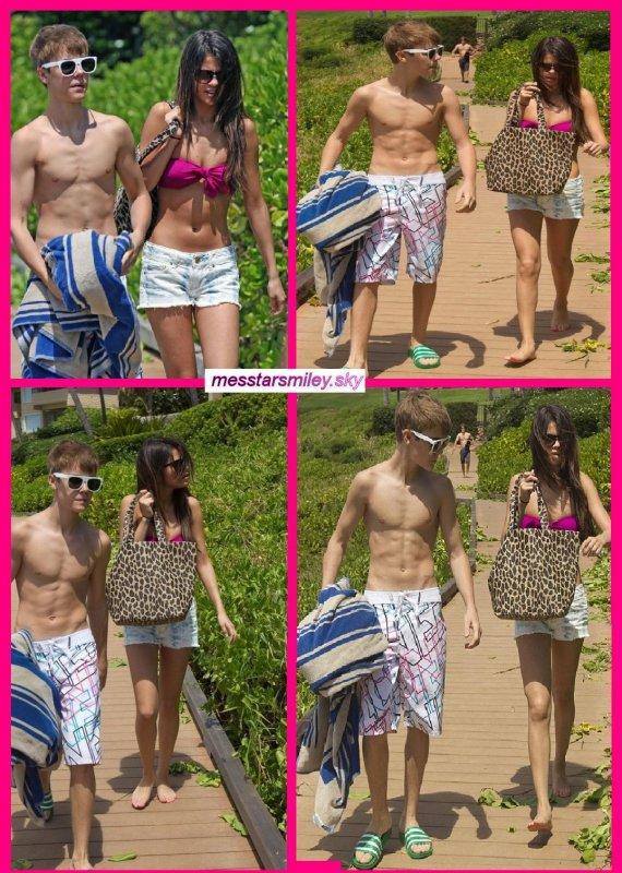 le Lundi 23 mai ,Selena et justin sont à Hawaii pour prendre un peu du temps