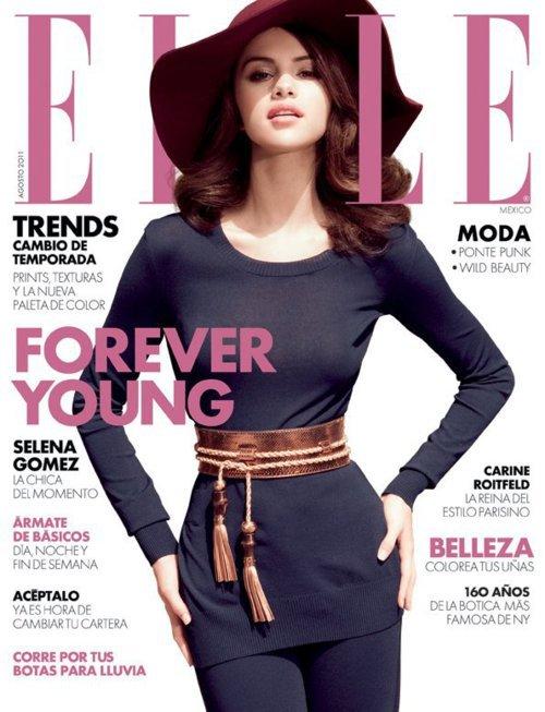 magazine Sur la couverture de Elle le Mexique