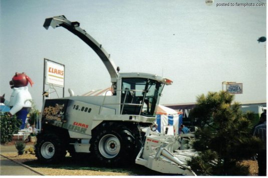 Claas jaguar mythique