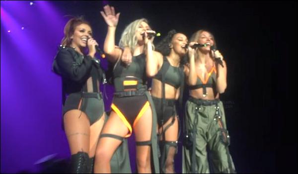 04/02/17 - Jade Thirlwall et les filles était au Dangerous Woman Tour, pour la première partie, à Las Vegas.Toujours dans les même tenues que hier, les filles se rendront toujours au côté d'Ariana et de Victoria Monet le 7 février à Omaha dans Nebraska..