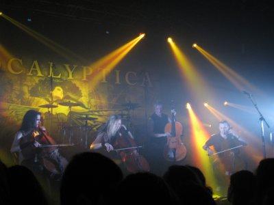 Concert d'Apocalyptica <3