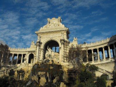 Petite visite du Palais Longchamp (Marseille)