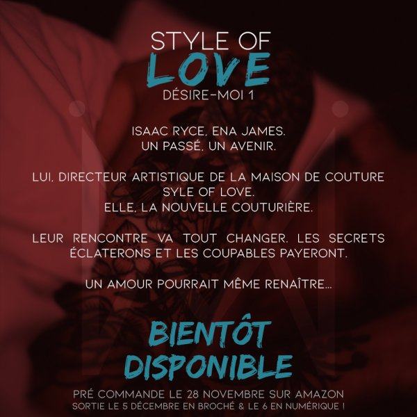 Style Of Love annonce !