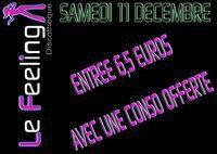 SAMEDI 11 DECEMBRE ... ENTREE + 1 CONSO. au TARIF DE LA CONSO.