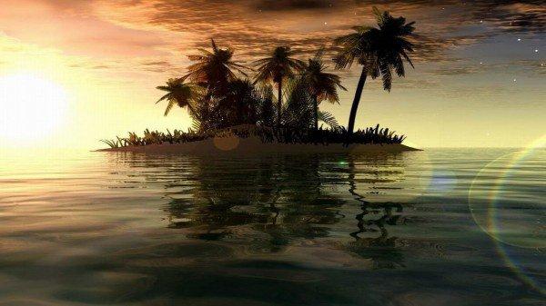 Une belle île