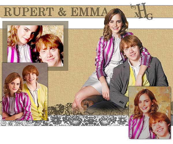 Hermione & Ron...