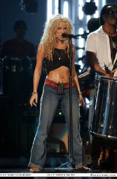 Shakira, l'exclusivité