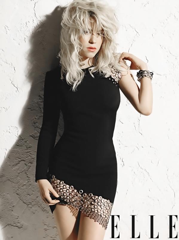 """Shakira pour le magazine """"Elle"""""""