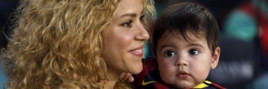 Trois nouvelles photos de Shakira, Gérard Piqué et Milan