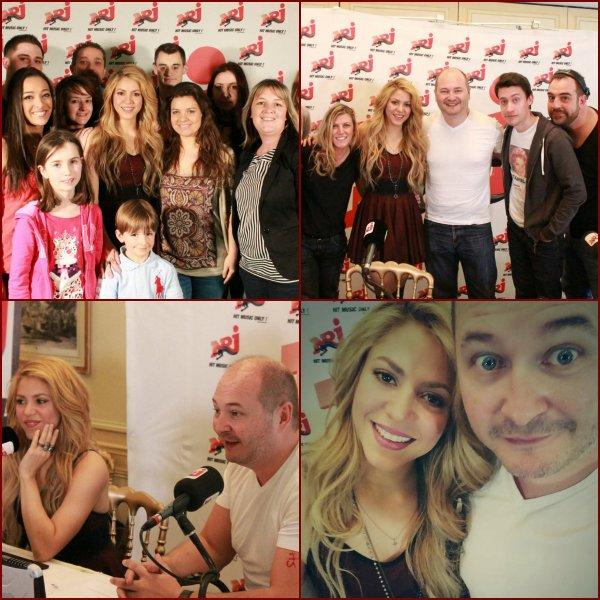 Interview de Shakira sur NRJ !